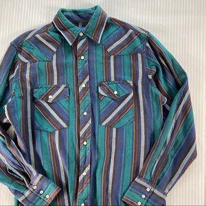 Wrangler Long Sleeve Striped Shirt